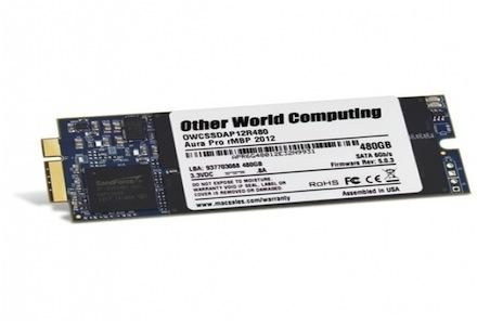 Jual OWC SSD 480GB MacBook Pro Retina